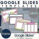 Google Slides Templates Daily Agenda | Visual Schedule | Editable