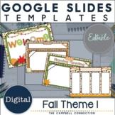 Fall Google Slides Templates Set 1