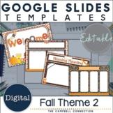 Fall Google Slides Templates Set 2