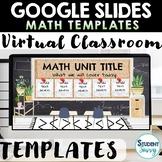 Google Slides Templates | MATH Distance Learning Digital C