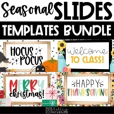 Google Slides Templates- Seasonal Bundle Distance Learning