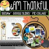 Digital Thanksgiving Activity for Virtual Learning: Google