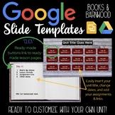 Google Slides Unit Template: Books & Barnwood