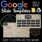 Google Slides Unit Template: Chalk & Burlap