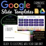 Google Slides Unit Template: Colored Pencils