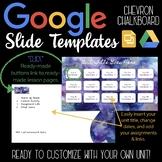 Google Slides Unit Template: Watercolors & White