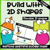 Google Slides--Use 2D shapes to Build--Movable Shapes--Freebie