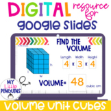 Google Slides: Volume with Unit Cubes   Distance Learning  