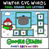Google Slides ™ Winter CVC Final Letter and Sound