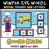 Google Slides ™ Winter CVC Initial Letter and Sound