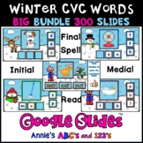 Google Slides ™ Winter CVC Word Bundle
