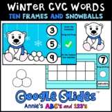 Google Slides ™ Winter Kindergarten Counting
