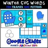 Google Slides ™ Winter Kindergarten Counting Numbers