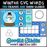 Google Slides ™ Winter Kindergarten Counting Snowballs
