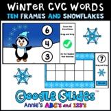Google Slides ™ Winter Kindergarten Counting Ten Frames
