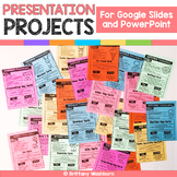 Google Slides and PowerPoint Presentation Projects {12 Months}