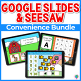 Google Slides and Seesaw Growing Bundle
