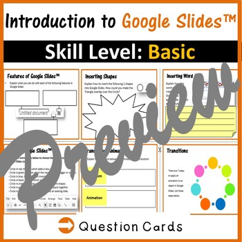 Beginners Skills & Activities Bundle (7 lessons) for Google Slides™