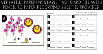 Google Task Cards - Sums to 10