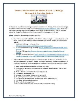 Google Tour Builder - Explore the Architectural Landmarks of Chicago