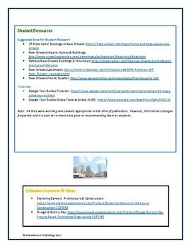 Google Tour Builder - Explore the Architectural Landmarks of New Orleans