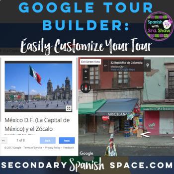 Google Tour Builder Mexico City Field Trip for Spanish Classes 7-12