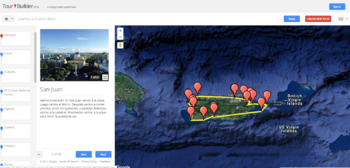 Google Tour Builder: Travel around the world from your classroom!