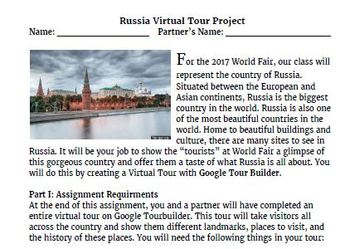 Google Tourbuilder Project: Russia