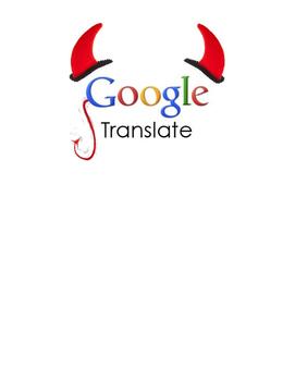 Google Translate Devil