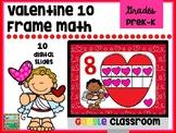 Google Valentine Heart 10 Frames