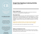 Google Voice: Speaking and Listening Activities Bundle