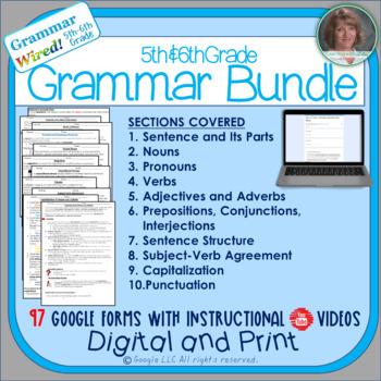 Grammar Wired! 5th-6th Grades Bundle