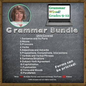 Grammar Wired! BUNDLE for Grades 9-12