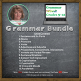 Grammar Wired! BUNDLE for Grades 9-12