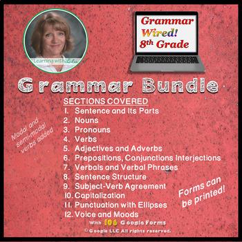 Grammar Wired! 8th Grade Bundle