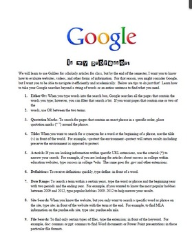 Google is My Professor