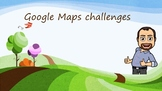 Google map exercises for Geography, Mesopotamia, Egypt, Gr