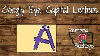 Googly Eye Capital Letters