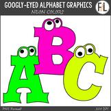 Googly Eyed Alphabet Clipart