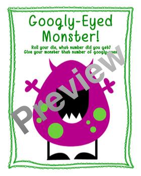 Googly-Eyed Monster Math