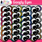 Googly Eyes Clip Art | Monster Eyeball Graphics for Halloween & Close Reading