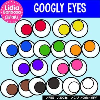 Googly Eyes {Clip Art for Teachers}