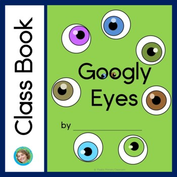Halloween Class Book with Sight Words, Googly Eyes
