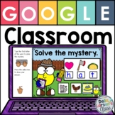 Google Classroom Mystery CVC Words with Beginning Sounds