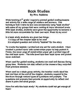 Gooney Bird Green Book Study