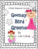 Gooney Bird Green, Lois Lowry - A Complete Book Response Journal