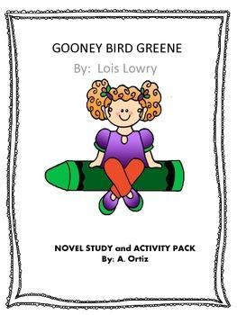 Gooney Bird Green Novel Study