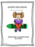 Gooney Bird Green Novel Study