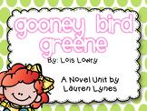 Gooney Bird Greene {A Novel Unit}