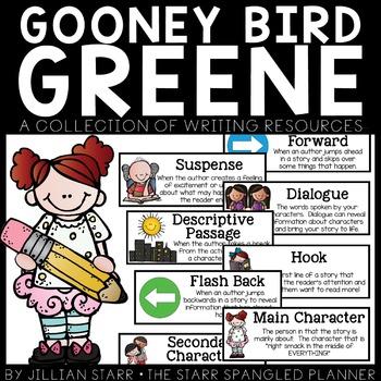 Gooney Bird Greene- A Writing Unit